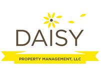 Daisy Property Management Identity Design