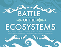 Battle of the Ecosystems Editorial Illustration