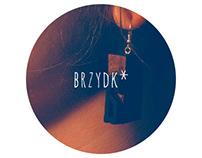 Brzydk* / letterpress jewelry