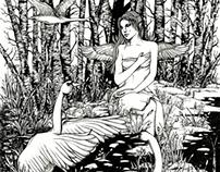 Book Illustration (B&W)