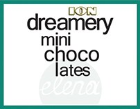ION dreamery I chocolate packaging