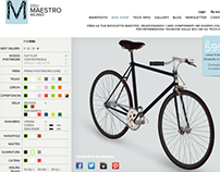 Cicli Maestro Milano | Web Identity and e-commerce