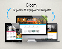 Bloom - Responsive Multipurpose Template