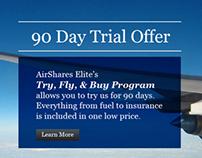 AirShares Elite Newsletter Redesign