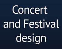 Concert and Festival design