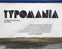 Typomania poster