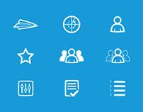 Navigation Menu Icons - iPhone App