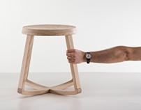 Monarchy, rocking stool