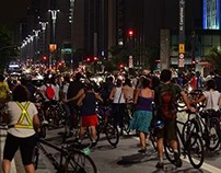 Photojournalism/In memory of a cyclist