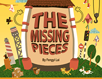 """Children Picture Book """"The Missing Pieces"""""""