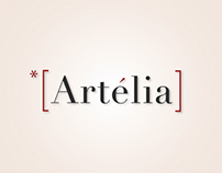 Artelia iPad App - Ebook Graphic design.