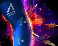AL1VE Magnetics Branding