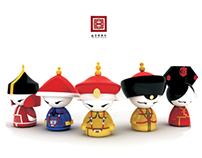 Doll Souvenir Design for Beijing Palance Museum