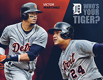 Detroit Tigers - 2015 Who's Your Tiger Social Campaign