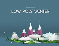 Microsoft Store: Low Poly Winter