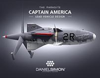 Captain America | Parasite Design by Daniel Simon