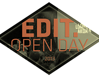EDIT. OPENDAY EVENT
