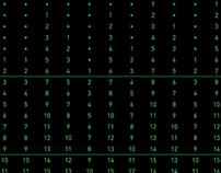 Matrix calendar for 2014