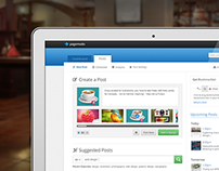 Pagemodo Posts Landing Page