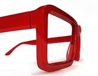 Rimmed glasses