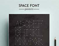 Space Debris Font