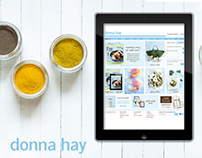 Donna Hay - E-Commerce Website
