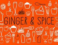 Ginger & Spice's brand identity