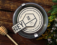 Bloomfield Farm Honey Packaging