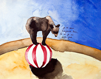 Balzac watercolors
