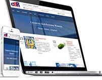 Responsive and full-width website cdr-reggio.it