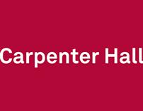 Carpenter Hall: Wayfinding & Branding