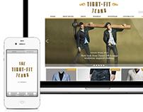 Denim Shop Website