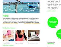 TEFL Lab London Website