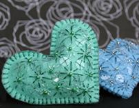 Heart Embroidery Kits (2007)