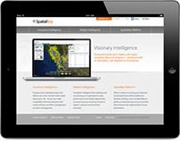 Marketing Website — GIS Software Company