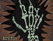 BOYTOY rock poster