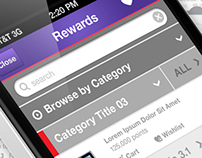 Epsilon Loyalty Rewards Mobile Application