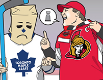 Editorial Illustration - SportsNet Magazine