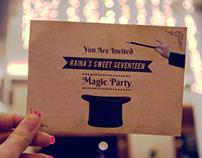 Magic Party Invitation