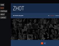 ZHOT Responsive Portfolio, Gallery & Blog