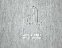 Design Portfolio 2015 _ Aude Floret