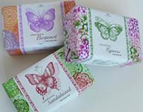 Soap wrapper and carton designs