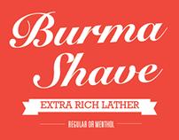 Burma Shave