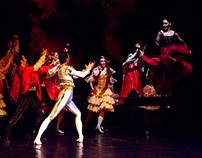 Serbian National Theater - Don Quixote - set design