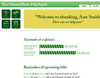 Online Banking Website