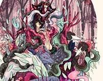 criaturas del bosque /creatures of forest