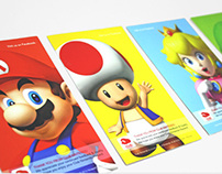 Club Nintendo Thank You Cards