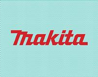Makita - Logotype Font