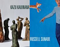 Exhibition Invite - Russell Sunabe and Kazu Kauinana