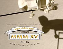Exhibition Invite - Mixed Media Miniature Art Show